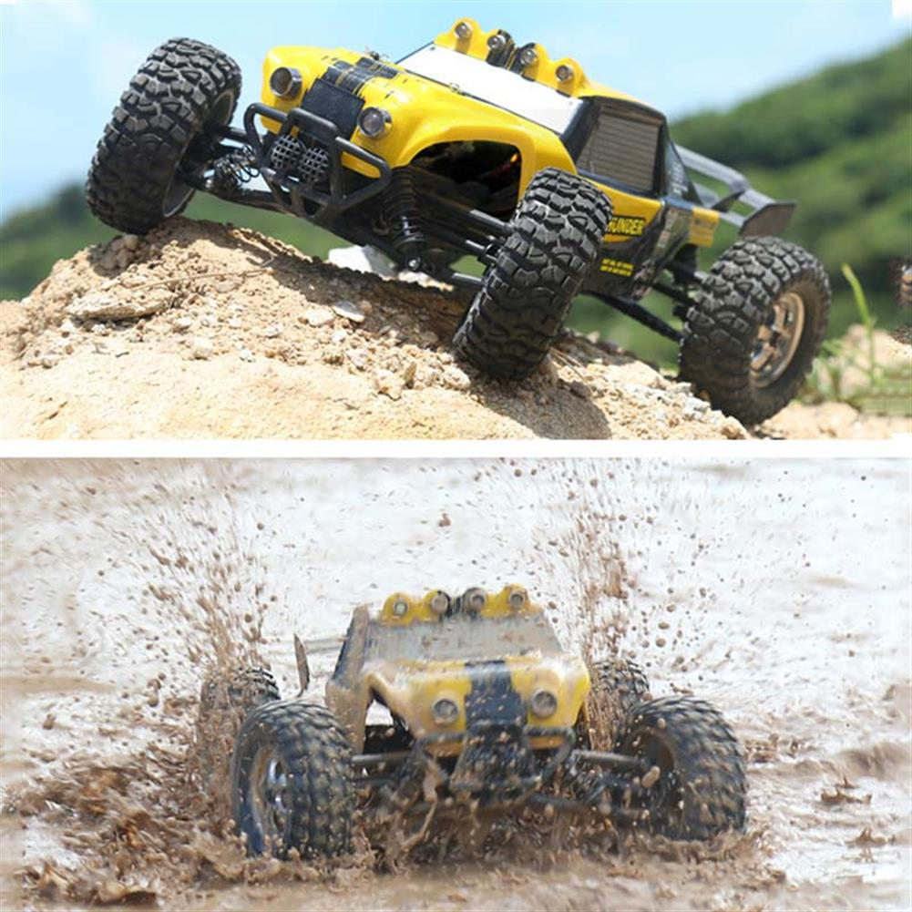 rc-cars HBX 12891 1/12 4WD 2.4G Waterproof Hydraulic Damper RC Desert Buggy Truck with LED Light RC1101815