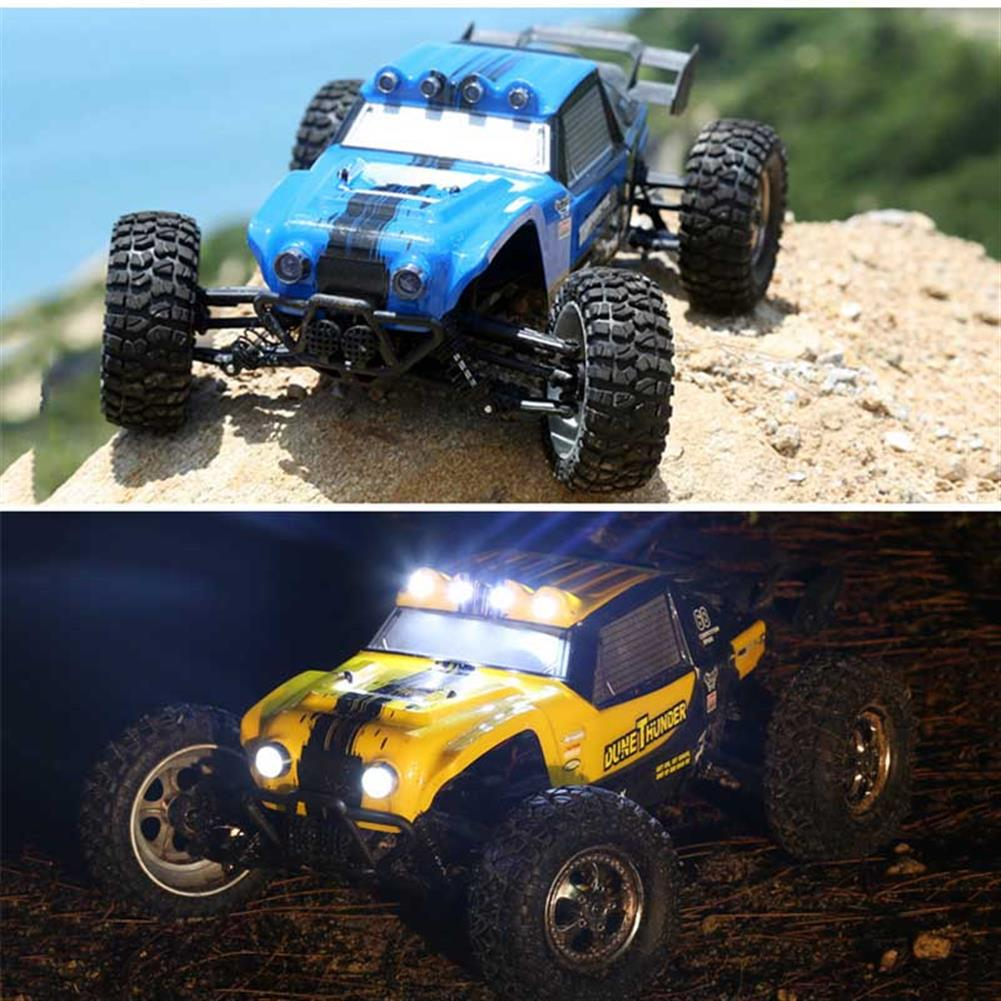 rc-cars HBX 12891 1/12 4WD 2.4G Waterproof Hydraulic Damper RC Desert Buggy Truck with LED Light RC1101815 1