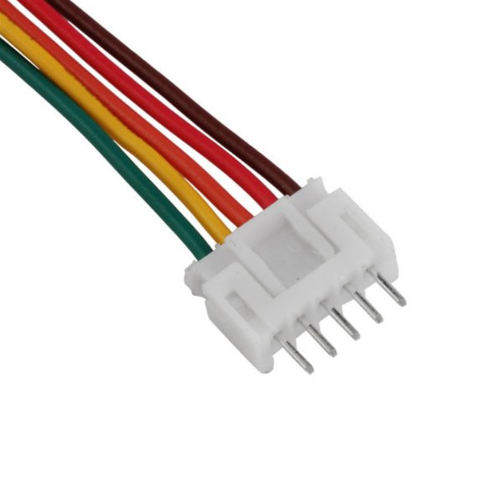 battery-charger 10Pairs 22AWG 100mm 2S 3S 4S 5S 6S LiPo Battery Male Female Connector Plug Balance Cable RC1102078