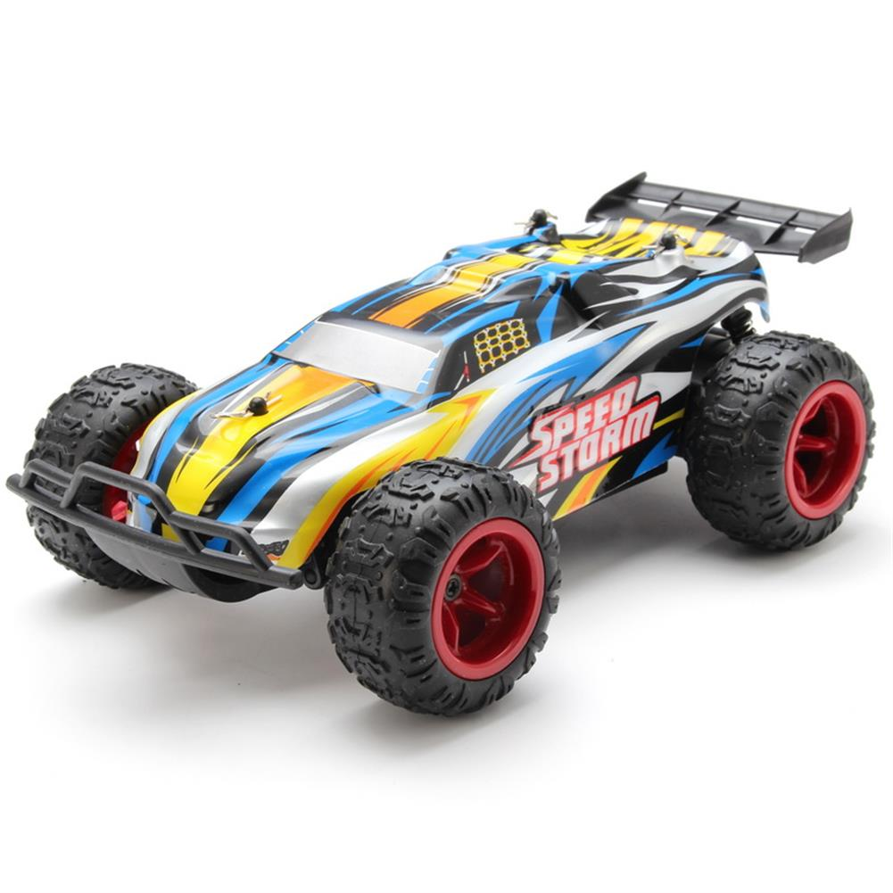 rc-cars PXtoys 9601 2.4G 1/22 RC Buggy Speed Storm Blue Red Remote Control Car RC1108039