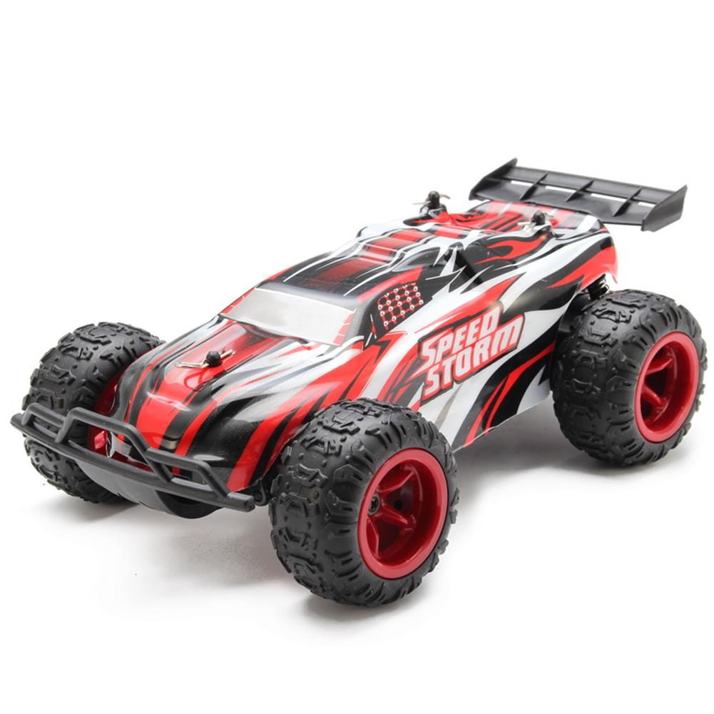 rc-cars PXtoys 9601 2.4G 1/22 RC Buggy Speed Storm Blue Red Remote Control Car RC1108039 1