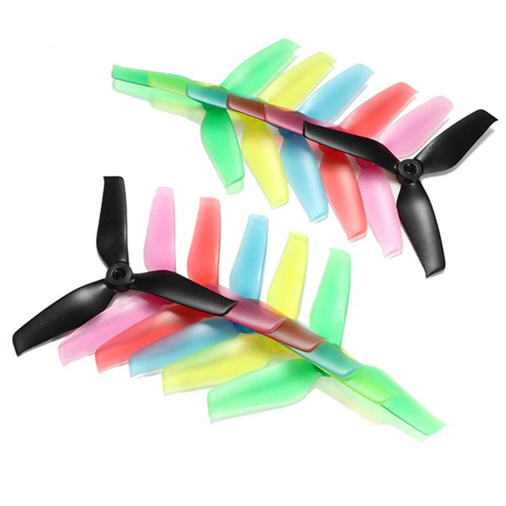 multi-rotor-parts 10 Pairs Racerstar 5042 5x4.2x3 3 Blade Propeller 5.0mm Mounting Hole For RC Drone FPV Racing Multi Rotor RC1112633