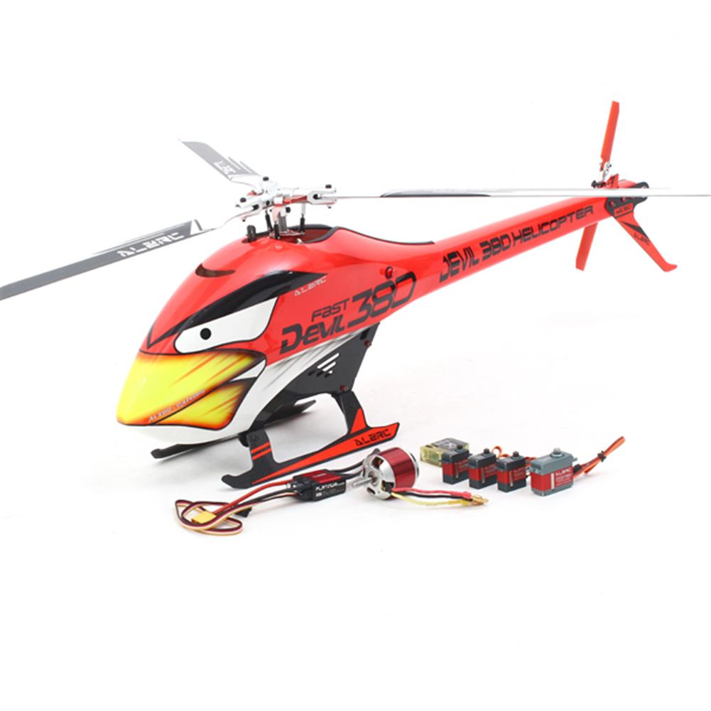 rc-helicopter ALZRC Devil 380 FAST Three Blade Rotor TBR Helicopter Super Combo RC1115775