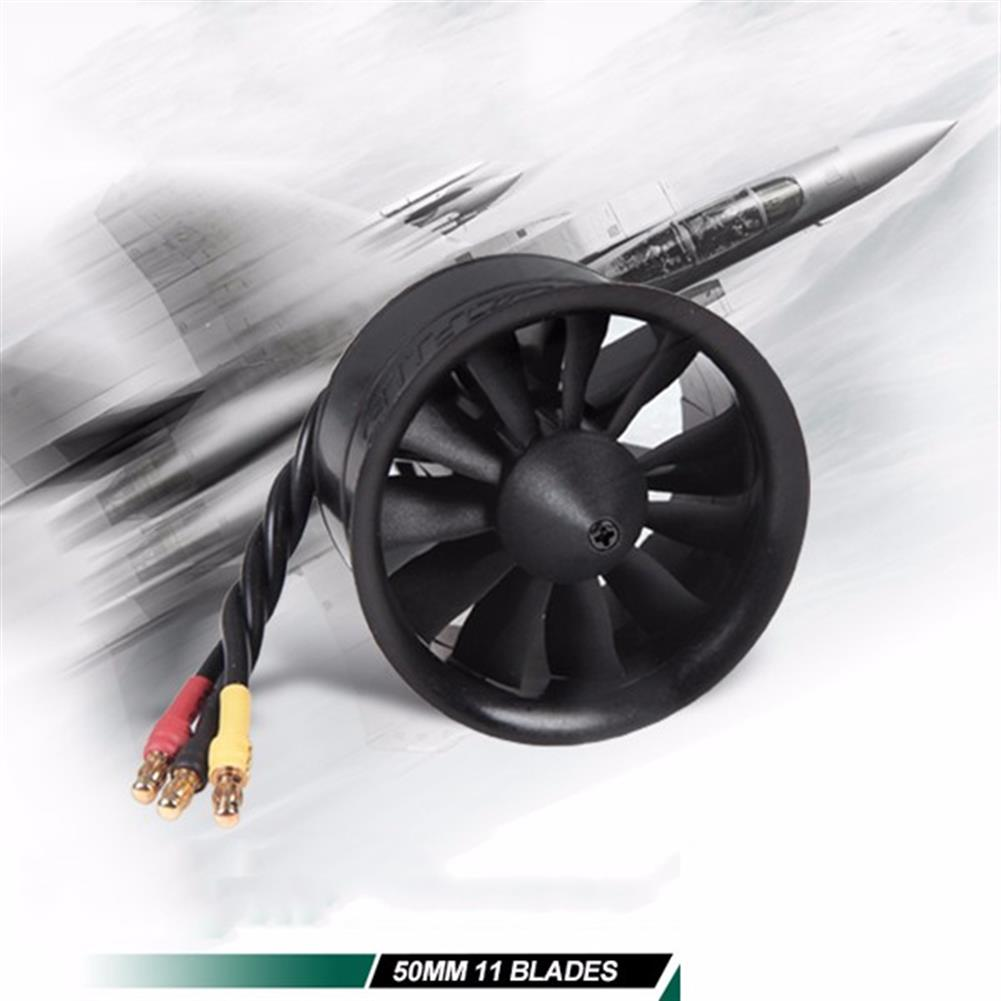 rc-airplane-parts FMS 50mm 11 Blades Ducted Fan EDF With 2627 KV4500 KV5400 3S 4S Brushless Motor RC1115809