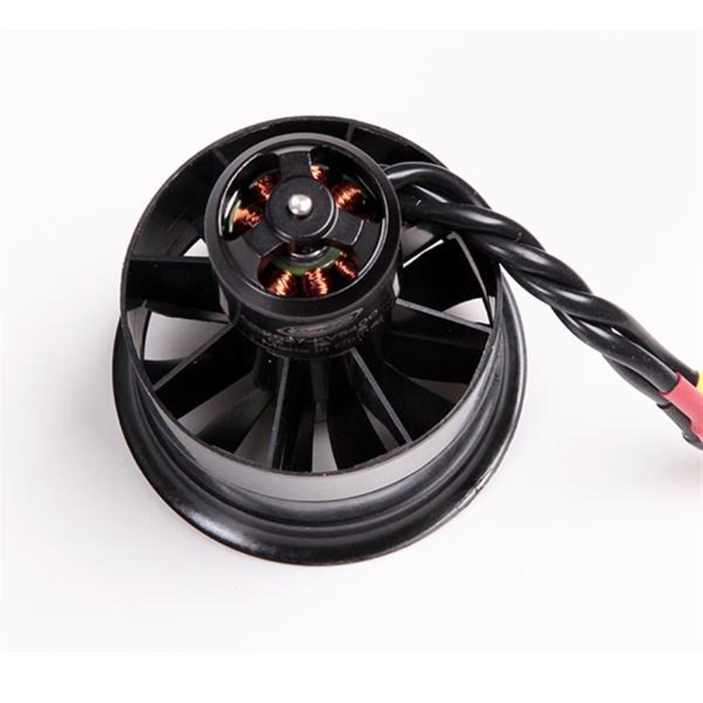 rc-airplane-parts FMS 50mm 11 Blades Ducted Fan EDF With 2627 KV4500 KV5400 3S 4S Brushless Motor RC1115809 2