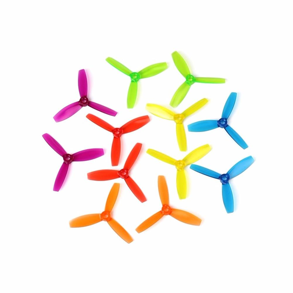 multi-rotor-parts 1 Pair DYS 3045 3 Inch 3 Blade Propeller Triblade Bullnose Prop Red Orange Yellow Green Blue Purple RC1117192