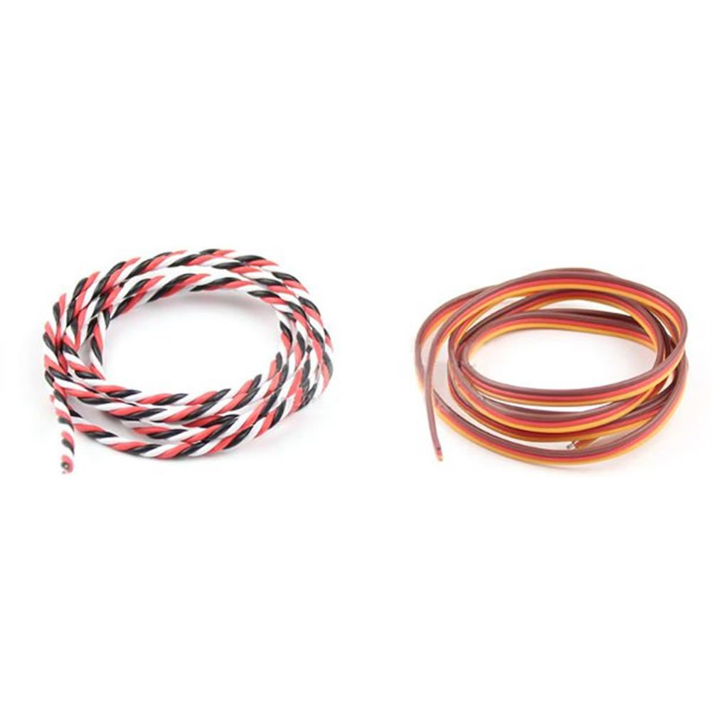 connector-cable-wire 5m 60 Cores Servo Extension Wire DuPont Cable Parallel Cable Twist Cable Optional RC1117768