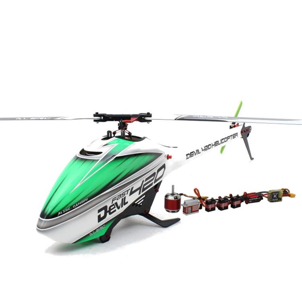 rc-helicopter ALZRC Devil 420 FAST FBL RC Helicopter Super Combo RC1143087
