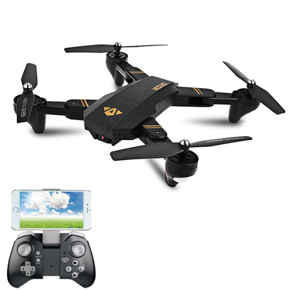 rc-quadcopters VISUO XS809HW WIFI FPV With Wide Angle HD Camera High Hold Mode Foldable Arm RC Drone Quadcopter RTF RC1149086