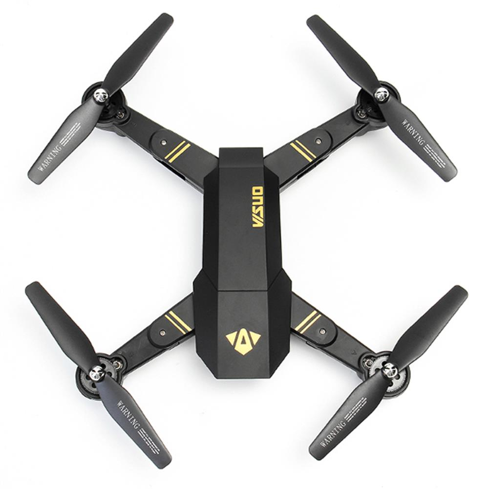 rc-quadcopters VISUO XS809HW WIFI FPV With Wide Angle HD Camera High Hold Mode Foldable Arm RC Drone Quadcopter RTF RC1149086 5