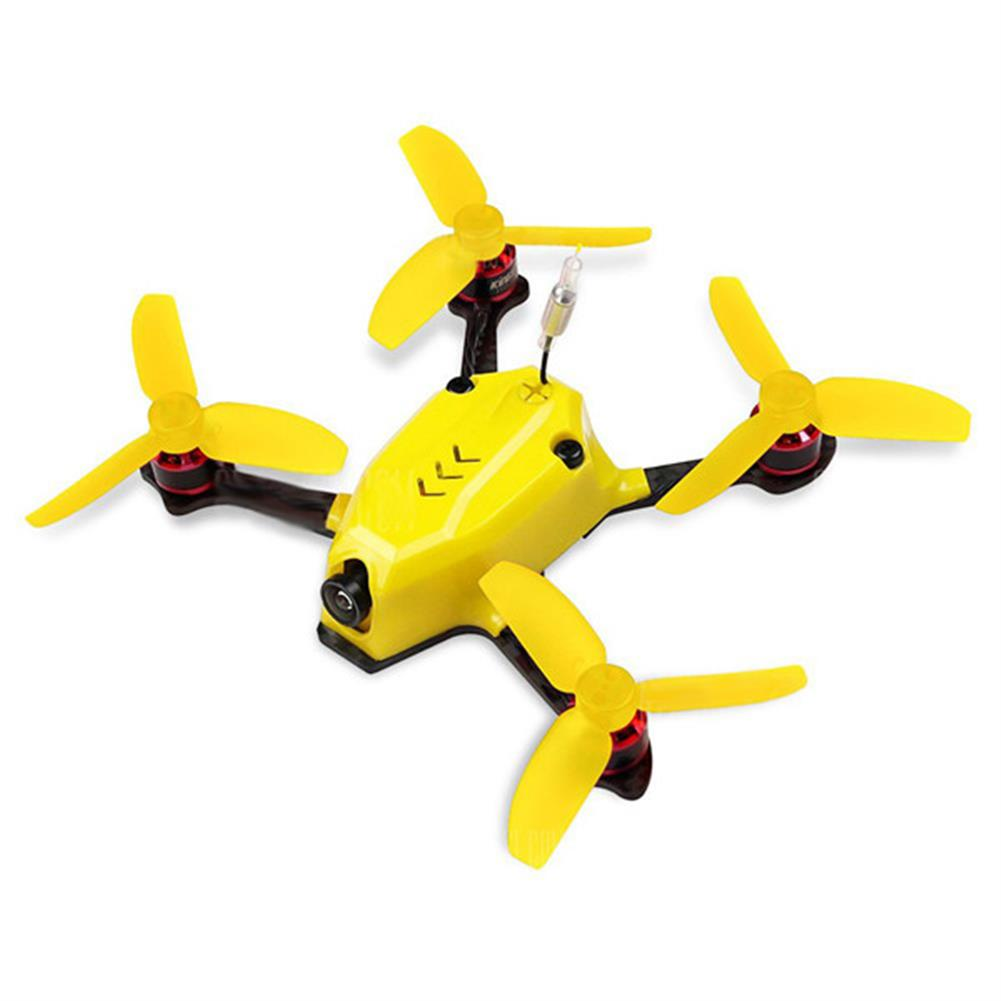 fpv-racing-drones KINGKONG/LDARC 110GT 117mm RC FPV Racing Drone with F3 4in1 10A Blheli_S 25mW 16CH 800TVL BNF RC1151830 4
