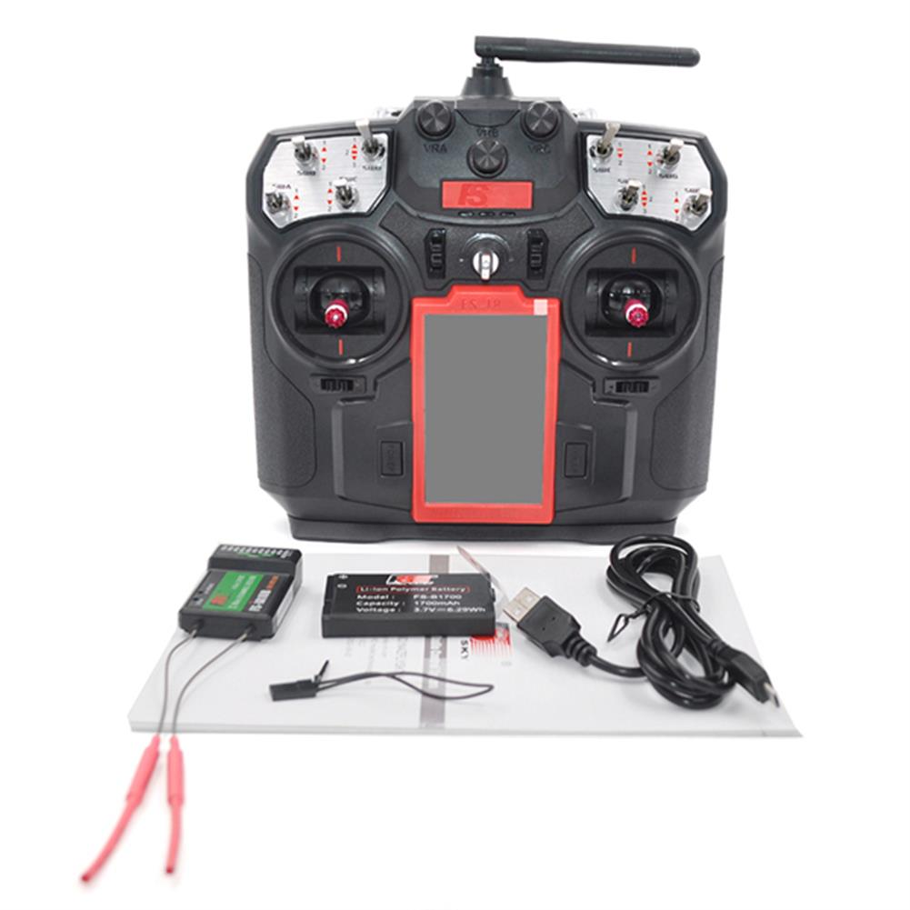 radios-receiver-Flysky FS-i8 i8 8CH 2.4GHz AFHDS 2A LCD Transmitter with FS-iA6B Receiver-RC1154393 5