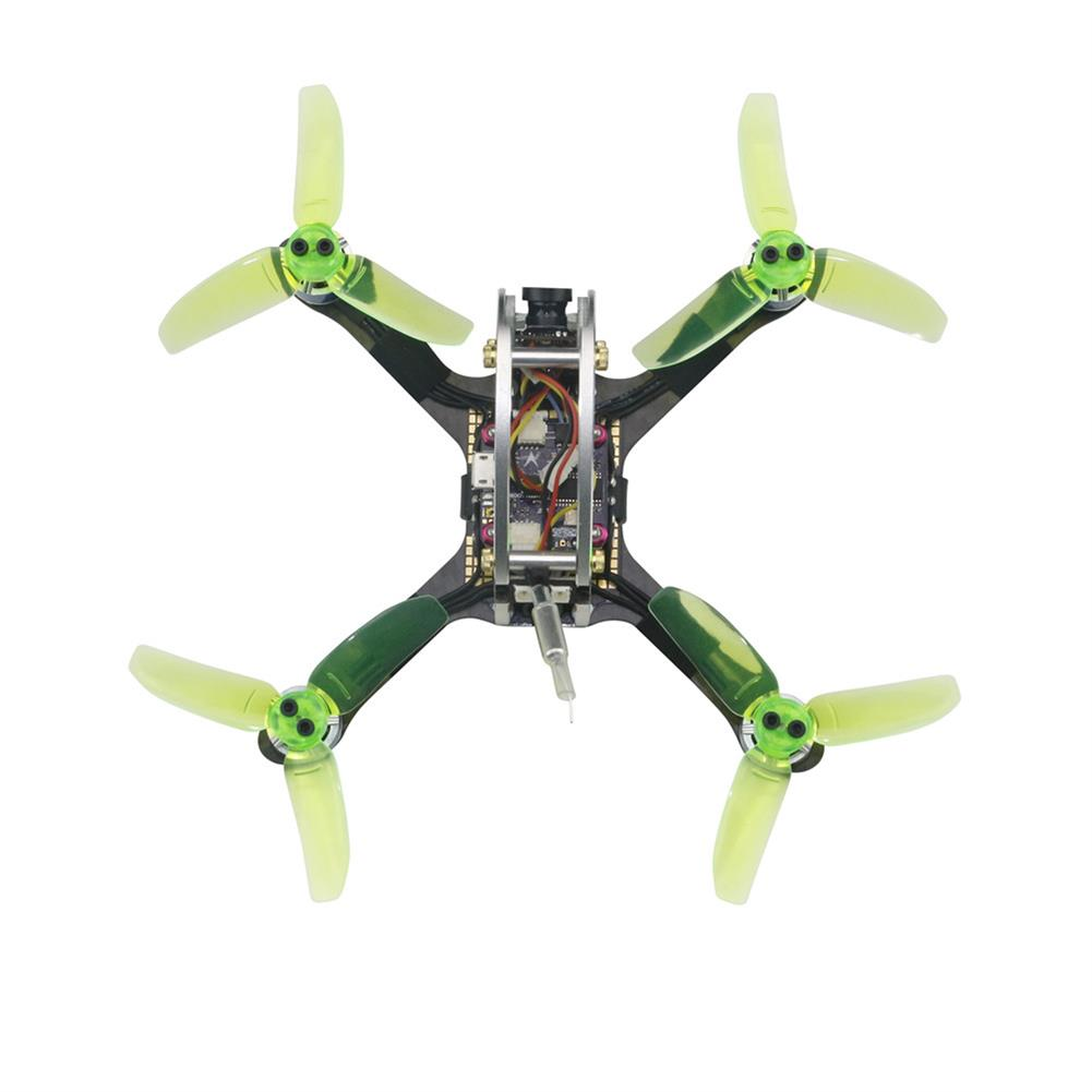 fpv-racing-drones KINGKONG/LDARC FLY EGG V2 130 130mm RC FPV Racing Drone w/ F3 12A 4in1 Blheli_S 16CH 800TVL PNP BNF RC1164224 1