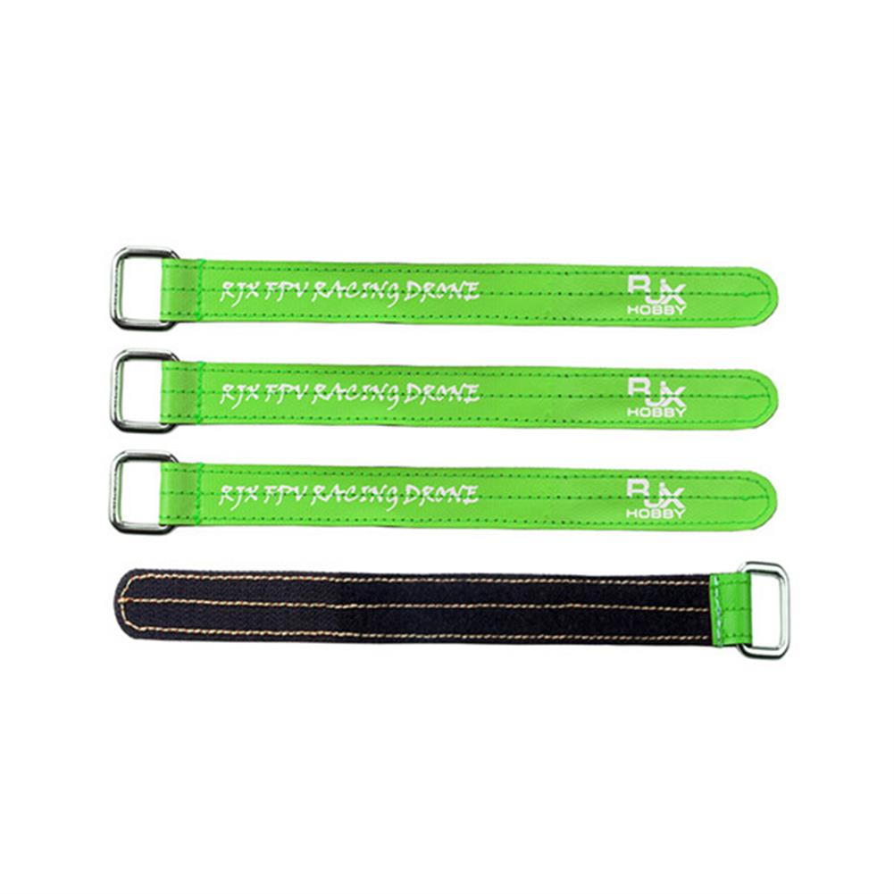 multi-rotor-parts 4 PCS RJX Magic Tie Down Anti Skid Battery Strap with Metal Clasp for RC Drone Battery RC1166702 2