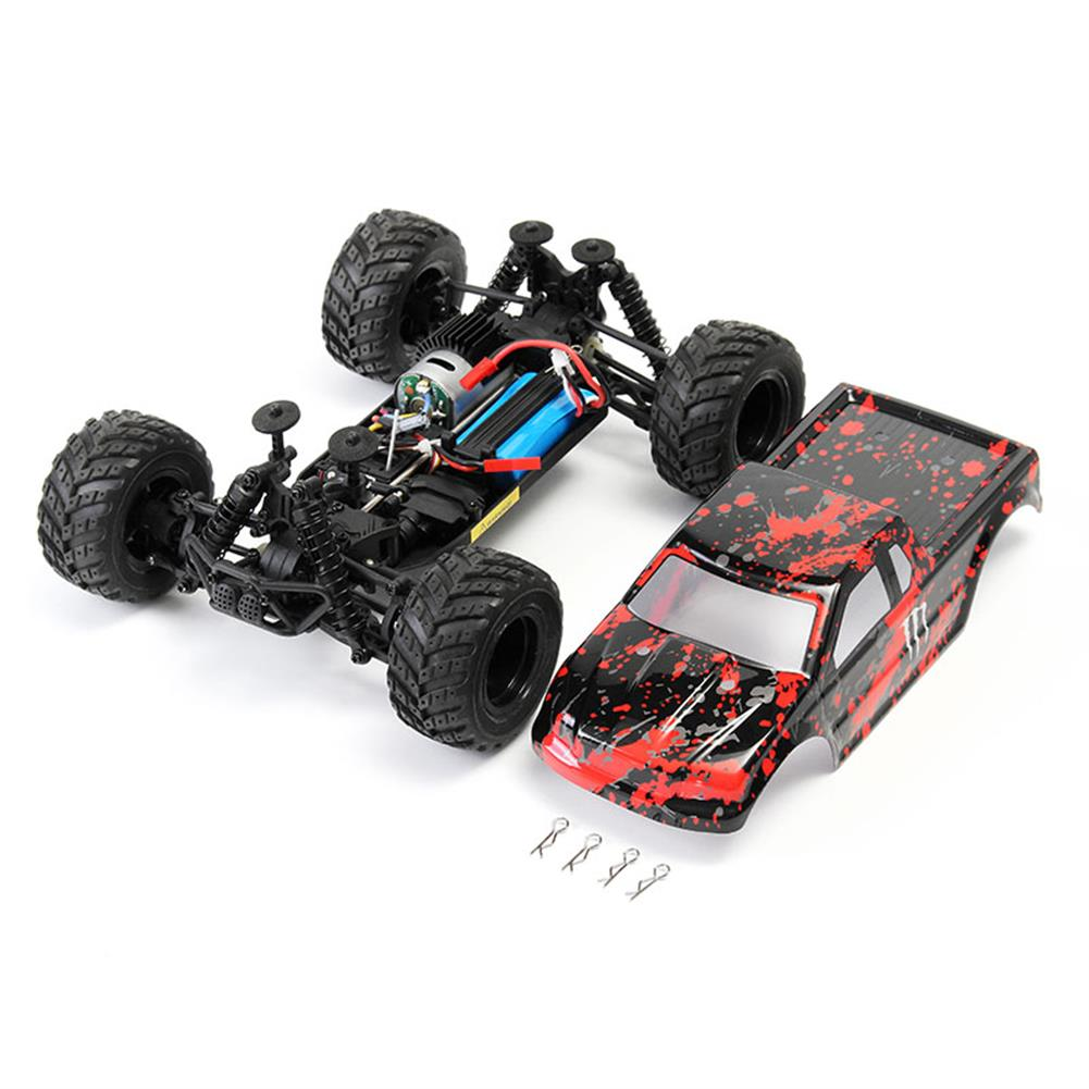 rc-cars HAIBOXING 18859E 1/18 2.4G 4WD 30KM/H Electric Powered Off Road Truck RC1170721 3