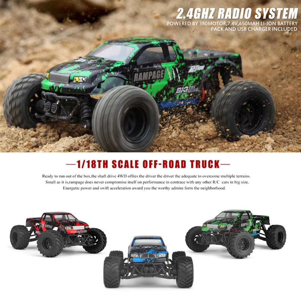 rc-cars HAIBOXING 18859E 1/18 2.4G 4WD 30KM/H Electric Powered Off Road Truck RC1170721 6