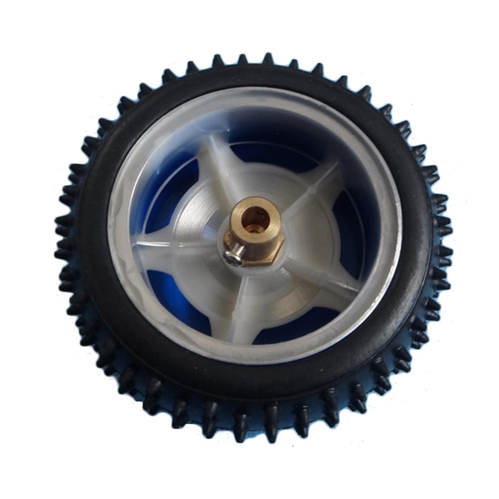 robot-parts-tools 3mm 4mm 5mm 6mm 7mm Hexagonal Copper Coupling Coupler for Robot Car Wheel RC1171587 2