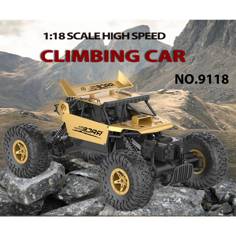 rc-cars Flytec 9118 1/18 2.4G 4WD Alloy Off Road RC Climbing Car RC1180715 1