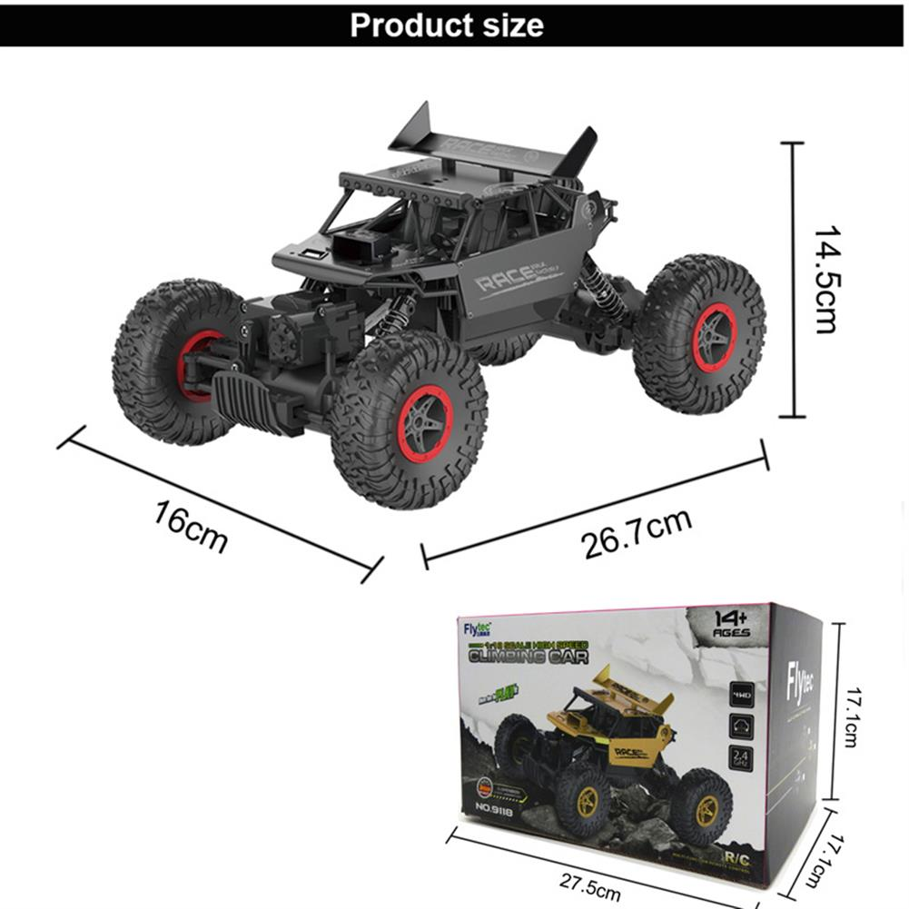 rc-cars Flytec 9118 1/18 2.4G 4WD Alloy Off Road RC Climbing Car RC1180715 7