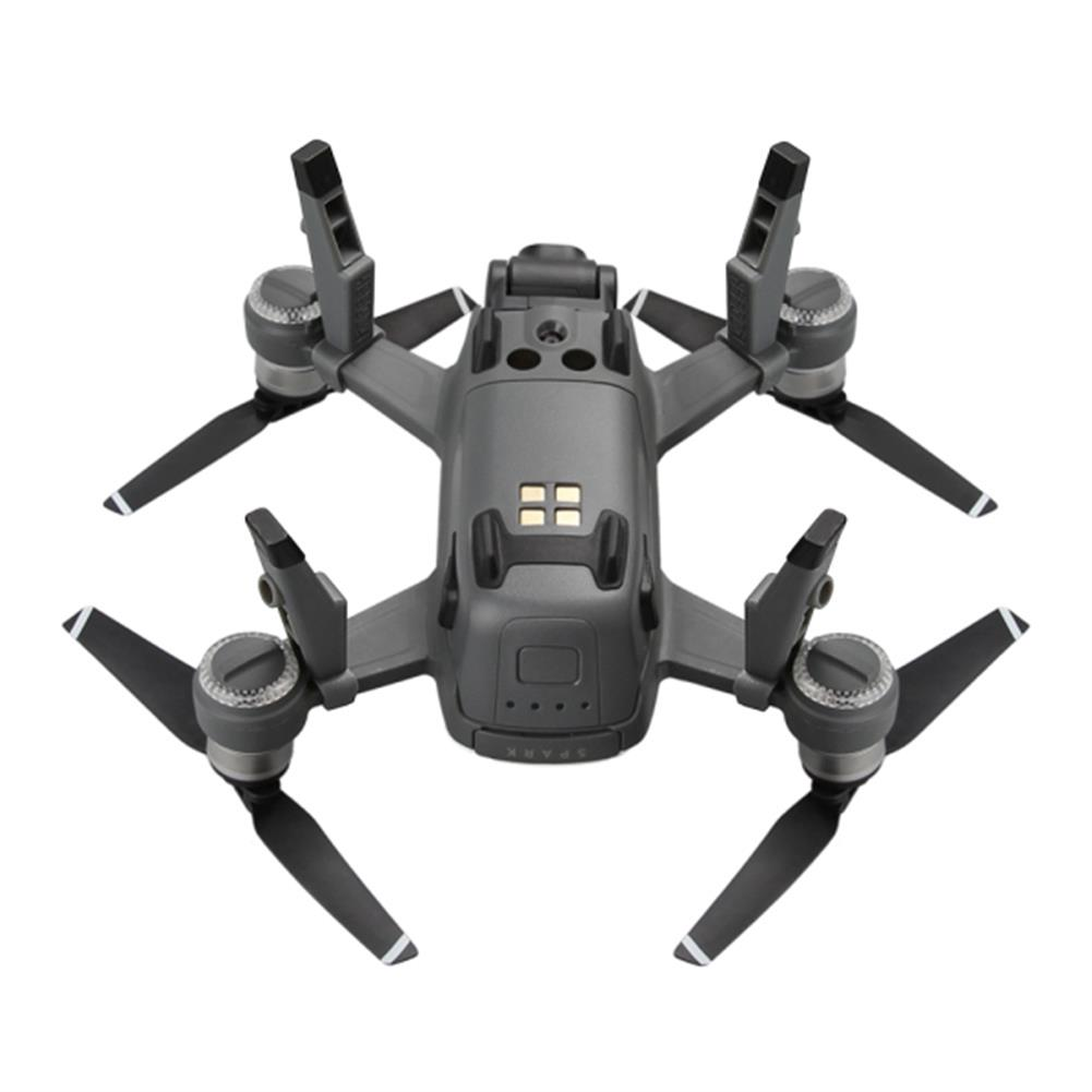 rc-quadcopter-parts-Rcgeek Extended Damping Landing Skids Landing Gear LED Headlamp Light Set For DJI Spark-RC1181539 7