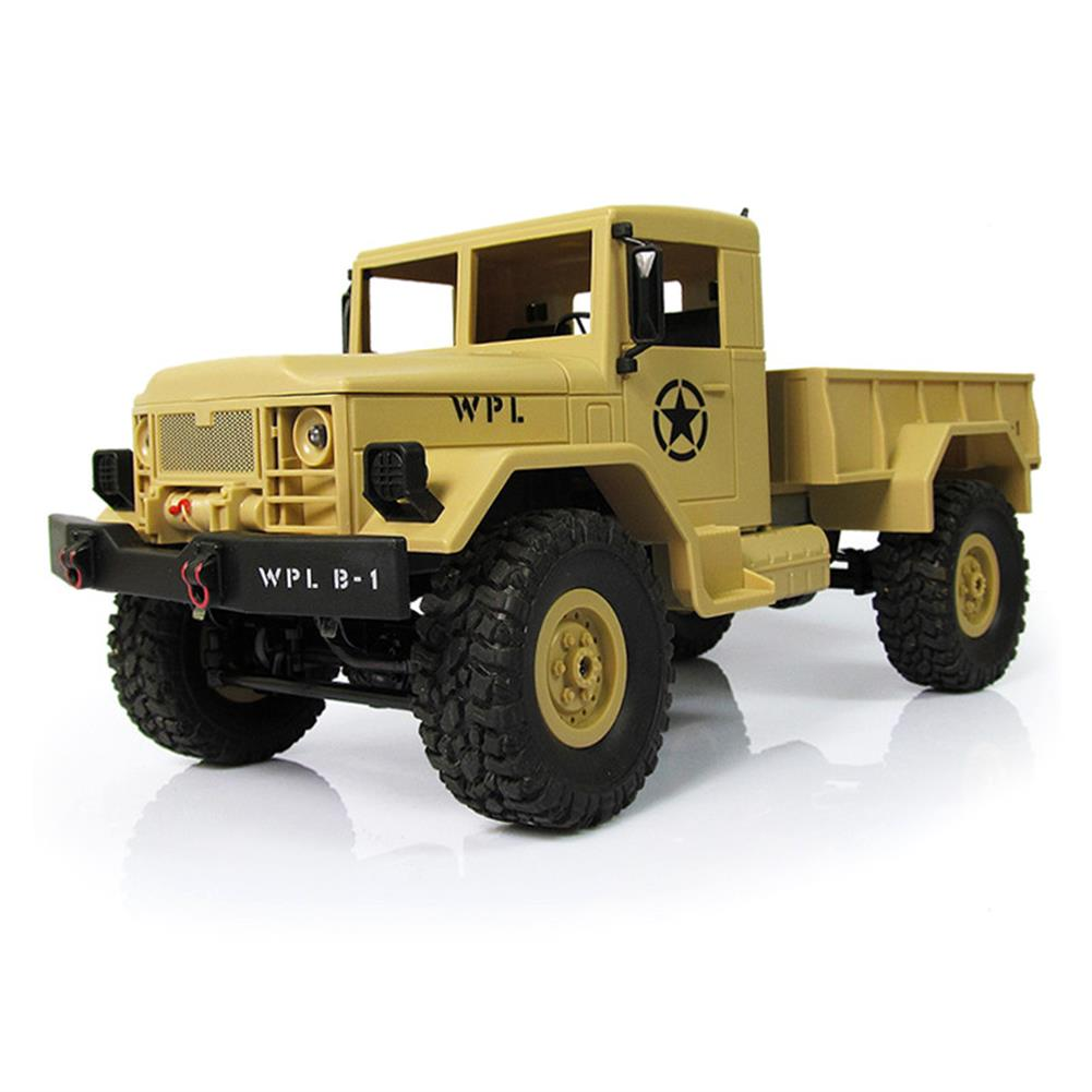 rc-cars WPL WPLB-1 1/16 2.4G 4WD RC Crawler Off Road Car With Light RTR RC1194636