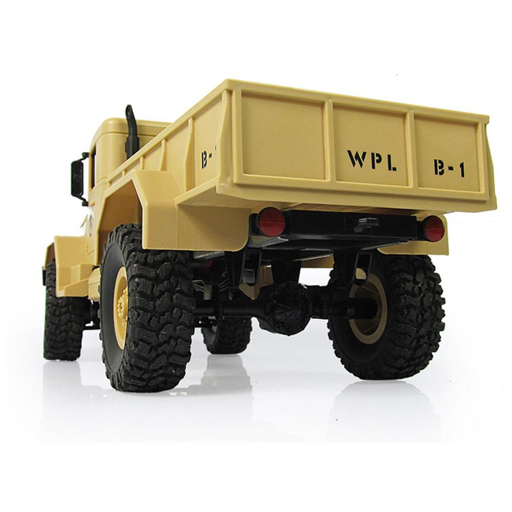rc-cars WPL WPLB-1 1/16 2.4G 4WD RC Crawler Off Road Car With Light RTR RC1194636 2