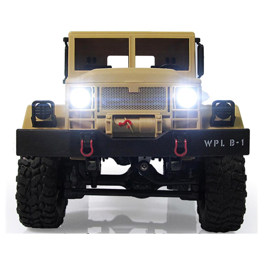 rc-cars WPL WPLB-1 1/16 2.4G 4WD RC Crawler Off Road Car With Light RTR RC1194636 3