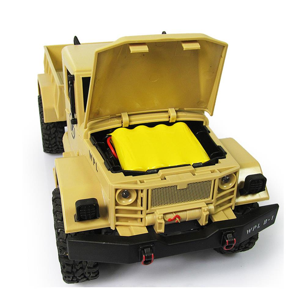 rc-cars WPL WPLB-1 1/16 2.4G 4WD RC Crawler Off Road Car With Light RTR RC1194636 4