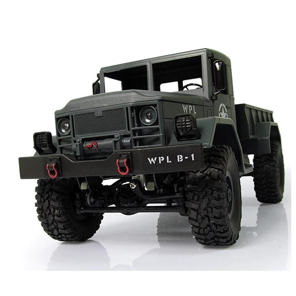 rc-cars WPL WPLB-1 1/16 2.4G 4WD RC Crawler Off Road Car With Light RTR RC1194636 5