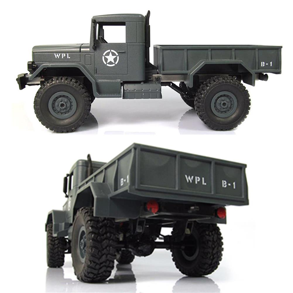 rc-cars WPL WPLB-1 1/16 2.4G 4WD RC Crawler Off Road Car With Light RTR RC1194636 7