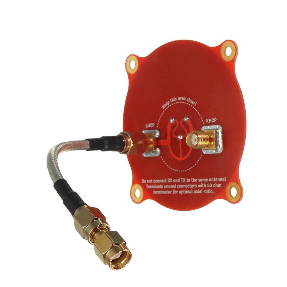 fpv-accessories Realacc Triple Feed Patch-1 5.8GHz 9.4dBi Directional Circular Polarized FPV Pagoda Antenna RC1195261 1