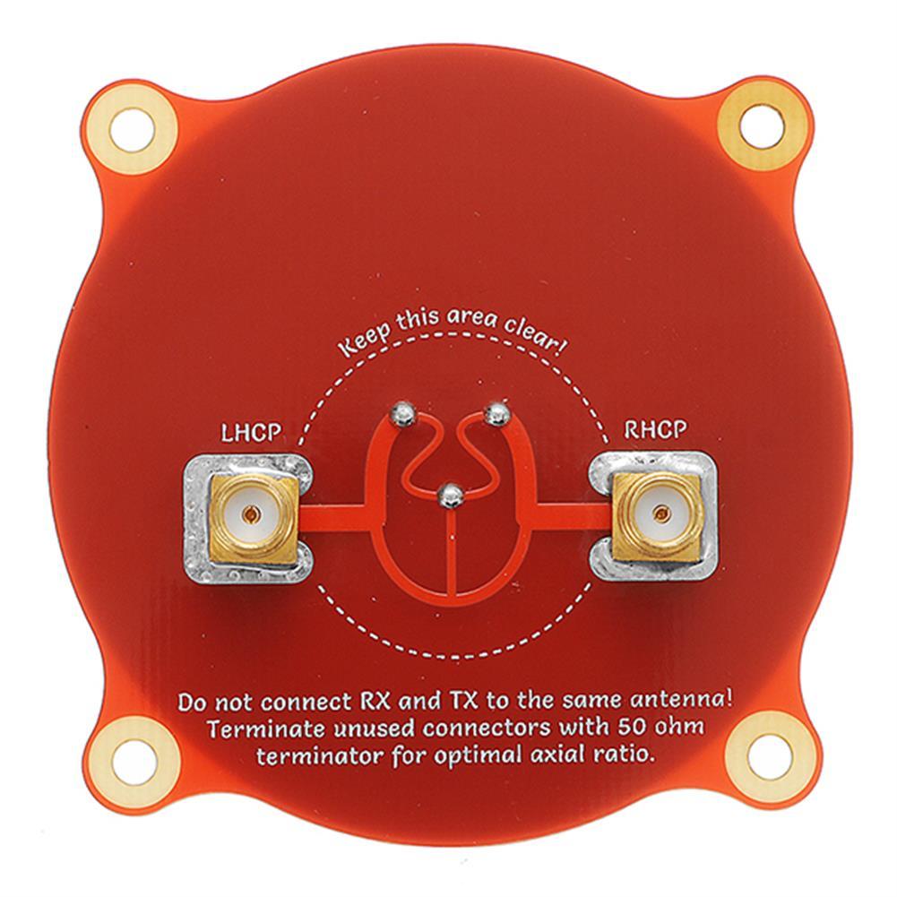 fpv-accessories Realacc Triple Feed Patch-1 5.8GHz 9.4dBi Directional Circular Polarized FPV Pagoda Antenna RC1195261 4