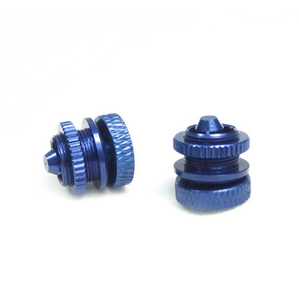 rc-airplane-parts 6STARHOBBY CNC Oil Plug For Methanol Gasoline RC Airplane 2PCS RC1198312 2