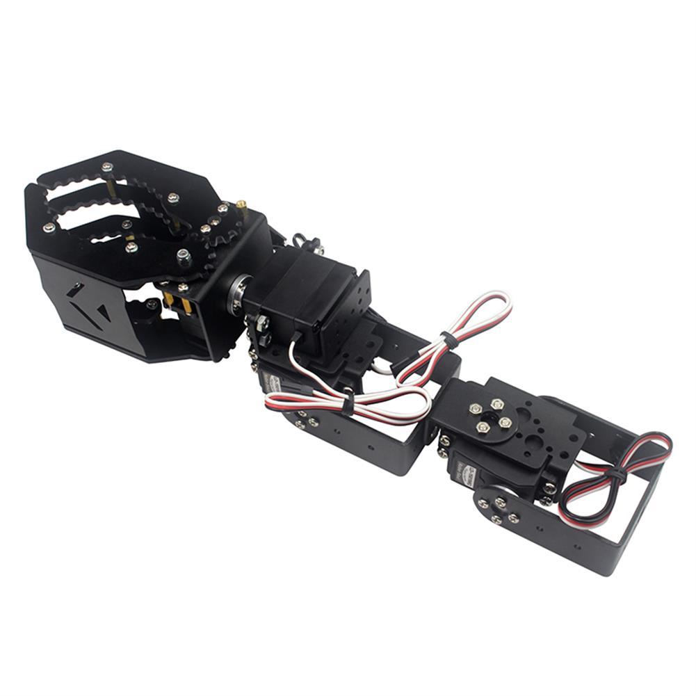 robot-arm-tank DIY 4DOF Robot Arm Claw Holder With Arduino 4pcs Digital Servo RC1208203 2