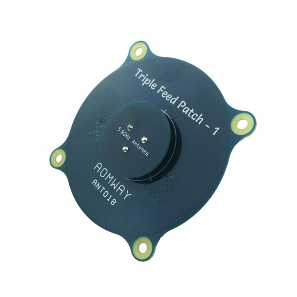 fpv-accessories Aomway ANT018 Triple Feed Patch-1 5.8G 8dBi RHCP/LHCP FPV Pagoda Antenna SMA/RP-SMA Male RC1208594 2