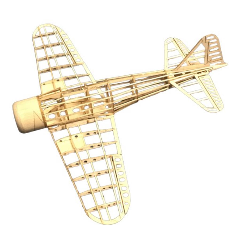 rc-airplane Mini Zero Fighter 400mm Wingspan Balsa Wood Laser Cut RC Airplane KIT RC1209642