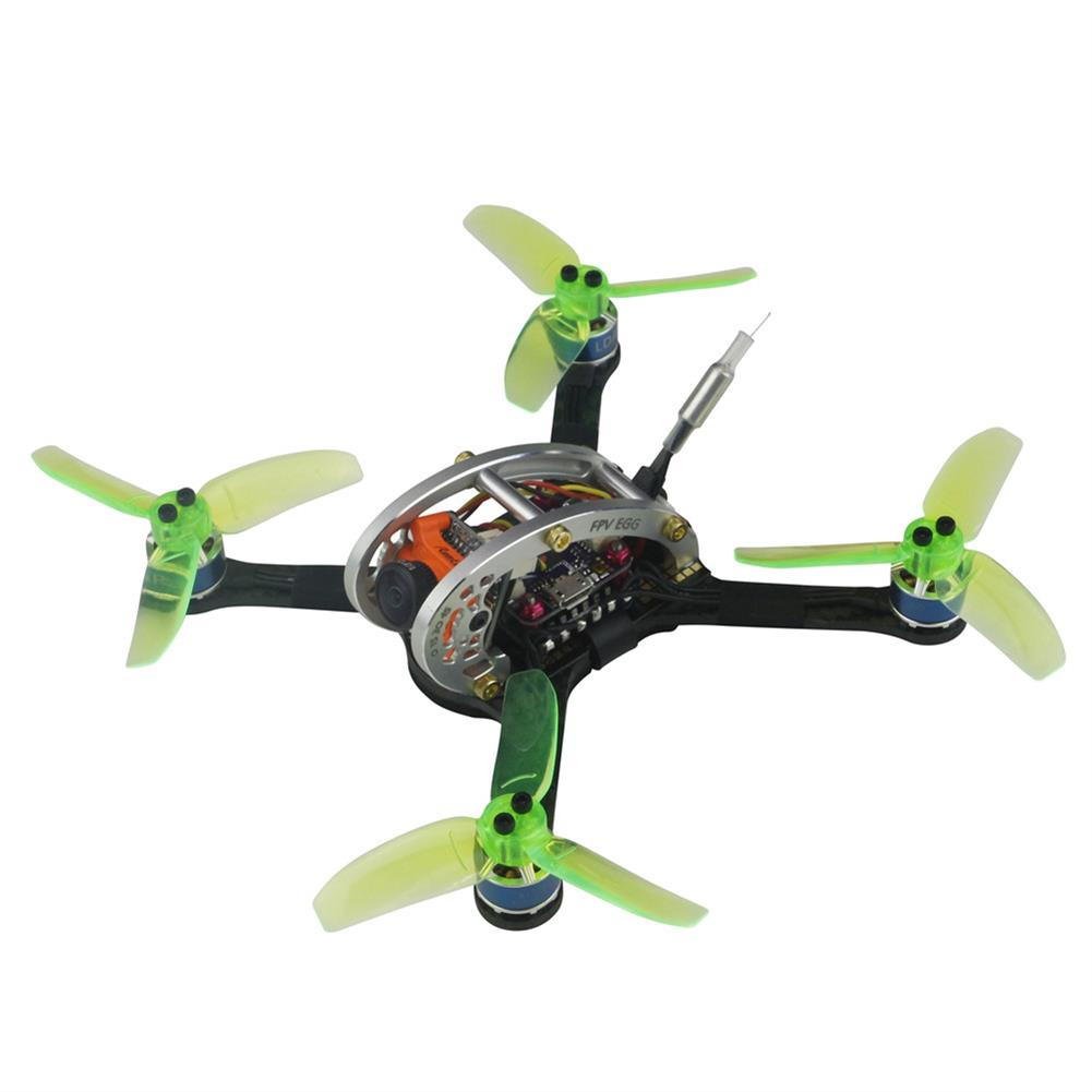 fpv-racing-drones KINGKONG/LDARC FPV EGG V2 136mm RC Racing Drone BNF W/ F3 4in1 12A BLehil_S 25mW/100mW 16CH 600TVL RC1210910