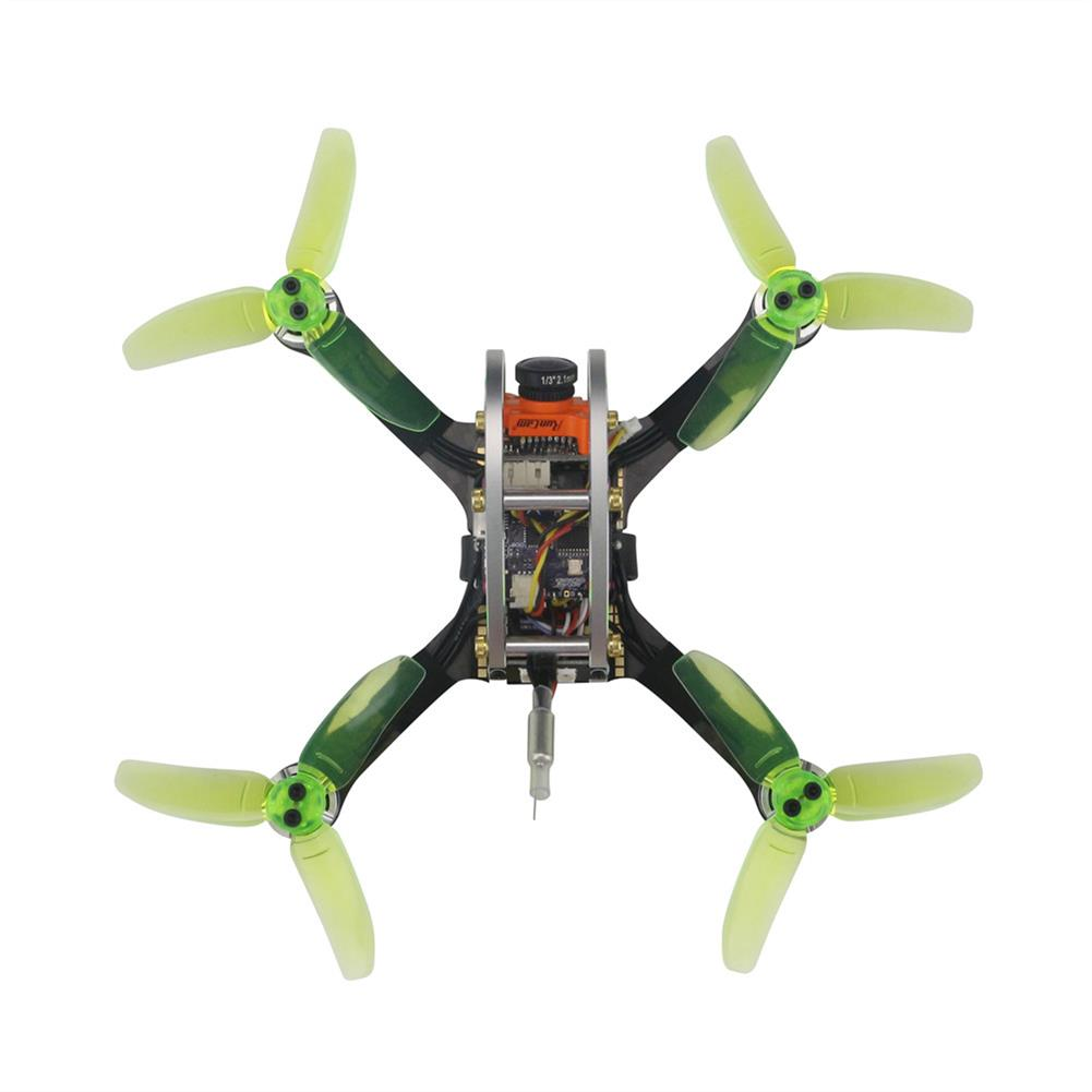 fpv-racing-drones KINGKONG/LDARC FPV EGG V2 136mm RC Racing Drone BNF W/ F3 4in1 12A BLehil_S 25mW/100mW 16CH 600TVL RC1210910 1