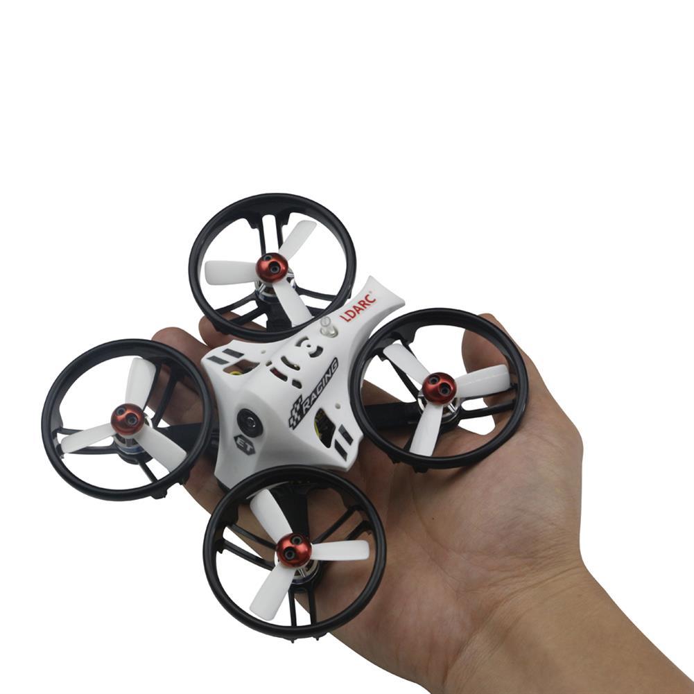 fpv-racing-drones KINGKONG/LDARC ET Series ET100 V2 100mm Micro FPV Racing RC Drone 800TVL Cam 16CH 25mW 100mW VTX BNF RC1211385 3