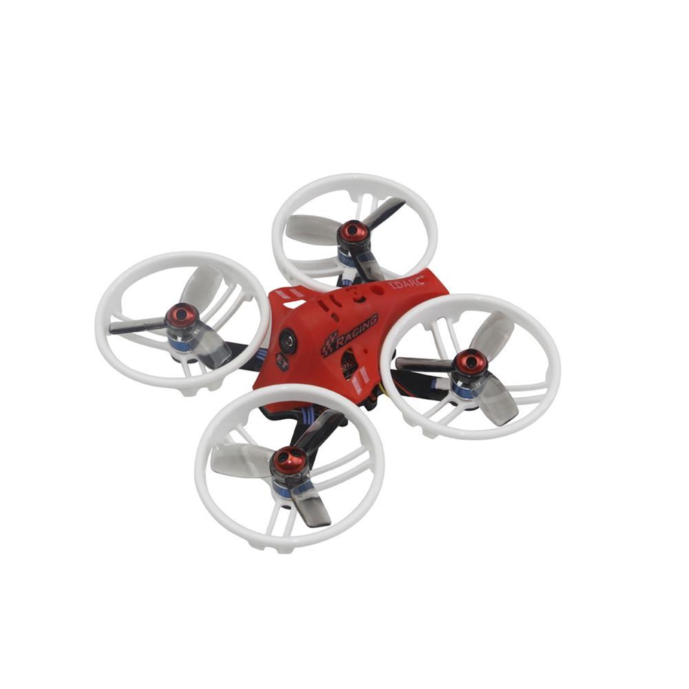fpv-racing-drones KINGKONG/LDARC ET Series ET125 V2 125mm Micro FPV Racing RC Drone 800TVL Cam 16CH 25mW 100mW VTX BNF RC1211388 3
