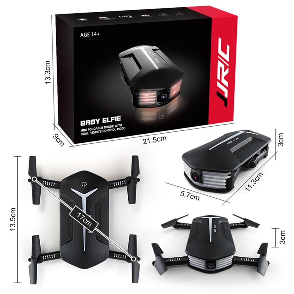 rc-quadcopters JJRC H37 Mini Baby Elfie 720P WIFI FPV Altitude Hold Fly More Combo RC Drone Quadcopter RTF RC1216064 6