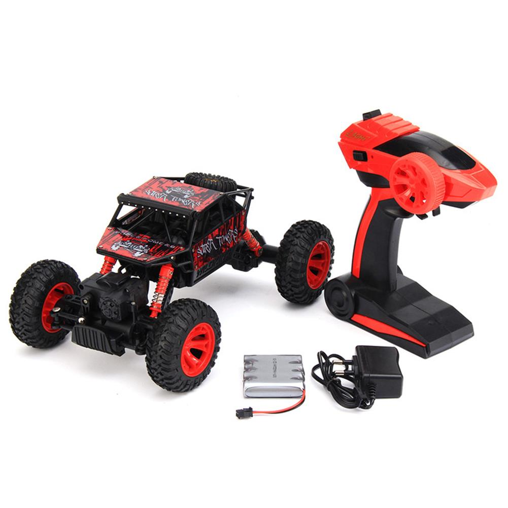 rc-cars HB P1803 2.4GHz 1:18 Scale RC Rock Crawler 4WD Off Road Race Truck Car Toy RC1217973 7
