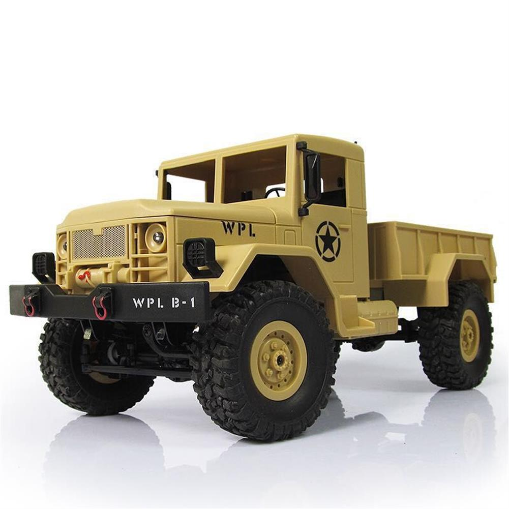 rc-cars WPL B-1 DIY Car Kit 1/16 2.4G 4WD RC Crawler Off Road Car Without Electronic Parts ATR RC1224707