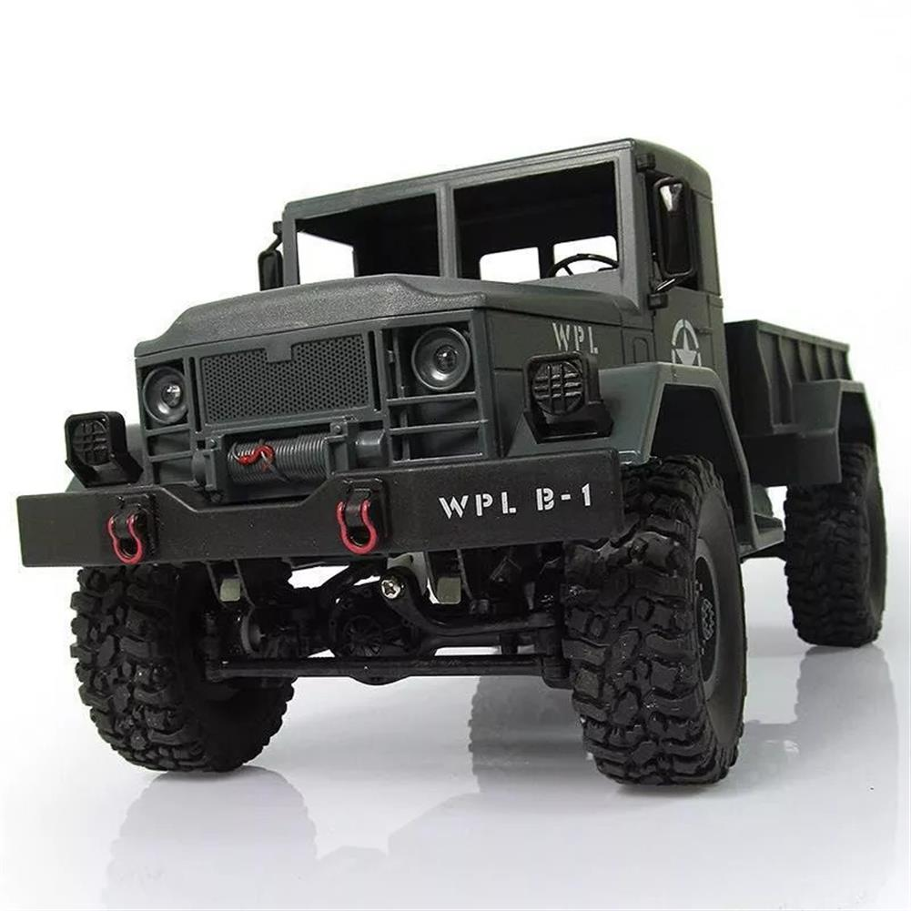 rc-cars WPL B-1 DIY Car Kit 1/16 2.4G 4WD RC Crawler Off Road Car Without Electronic Parts ATR RC1224707 2