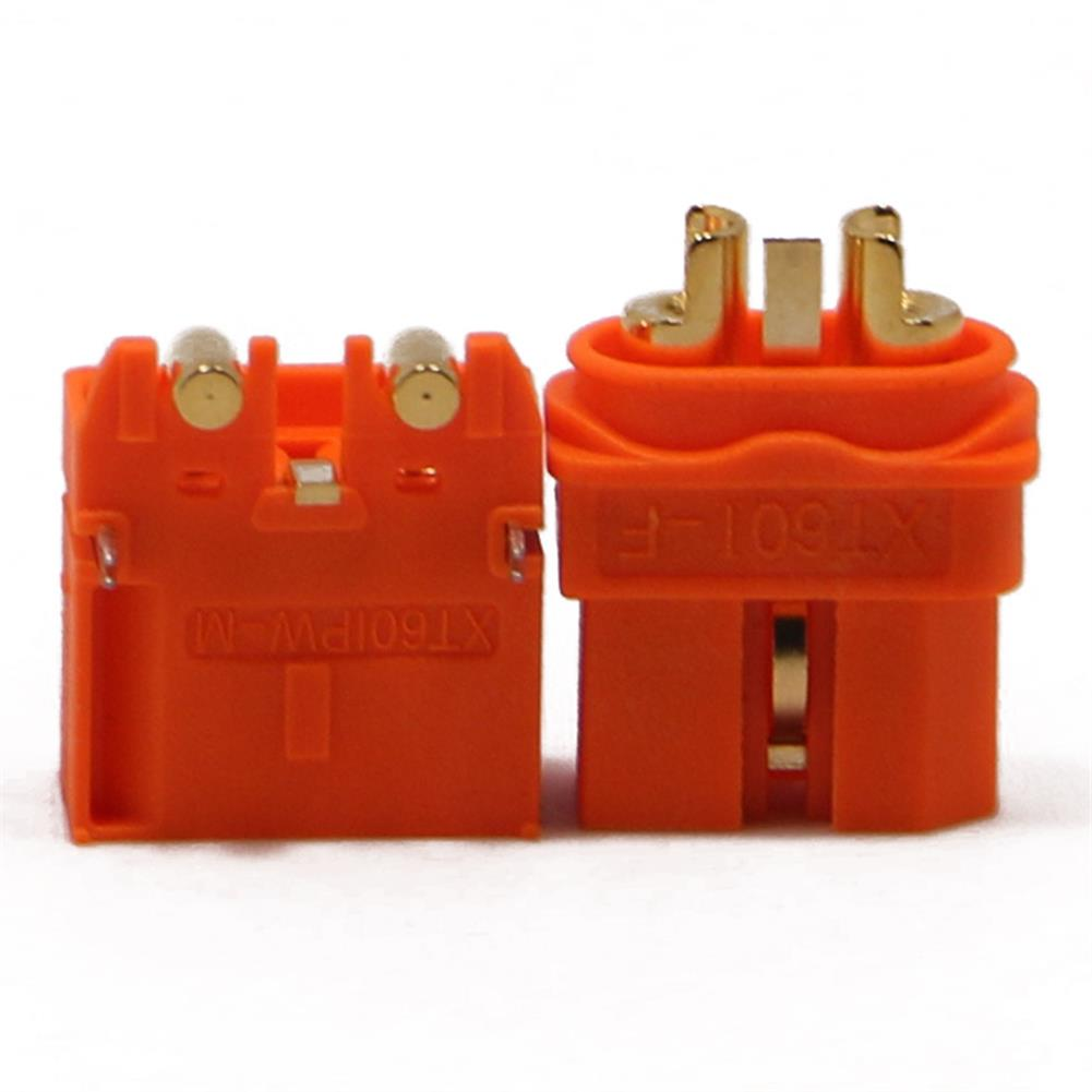 connector-cable-wire AMASS XT60I-F XT60IPW-M Connector Plug with Sheath Housing for BattGo Smart Lipo Battery RC1225557 1
