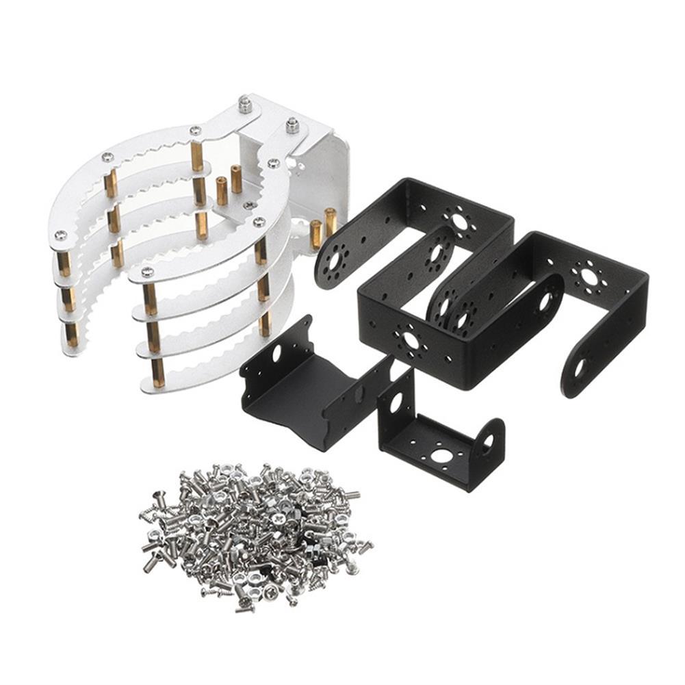 robot-arm-tank 4DOF Mechanical Arm Manipulator Robot Arm Claw Metal Holder Bracket Kit Digital with Servo RC1225565 4