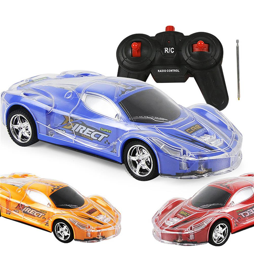 rc-cars 4WD 1/24 RC Remote Control Light Up Racing Car W/ 3D Flashing Lights Drive Toy RC1238705