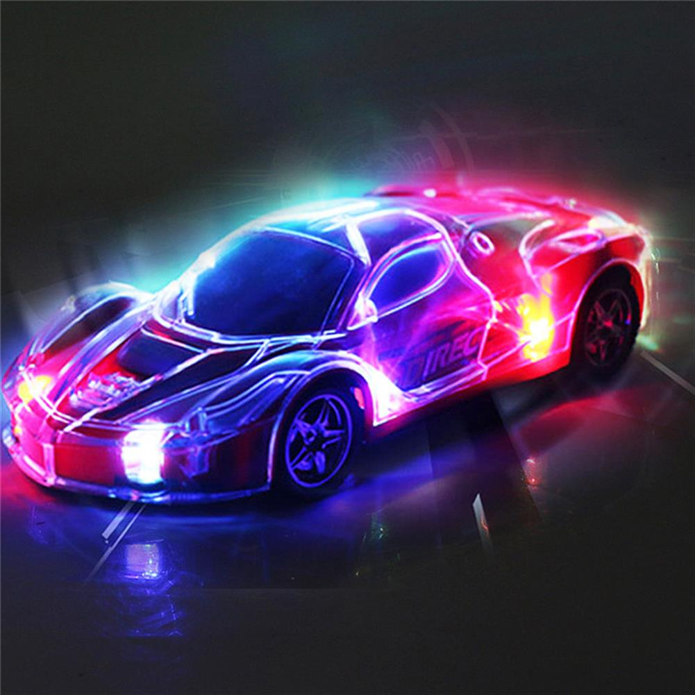 rc-cars 4WD 1/24 RC Remote Control Light Up Racing Car W/ 3D Flashing Lights Drive Toy RC1238705 2