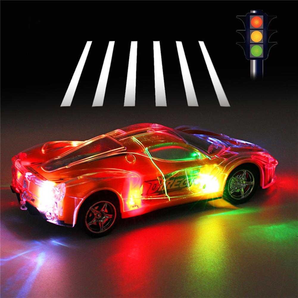 rc-cars 4WD 1/24 RC Remote Control Light Up Racing Car W/ 3D Flashing Lights Drive Toy RC1238705 3
