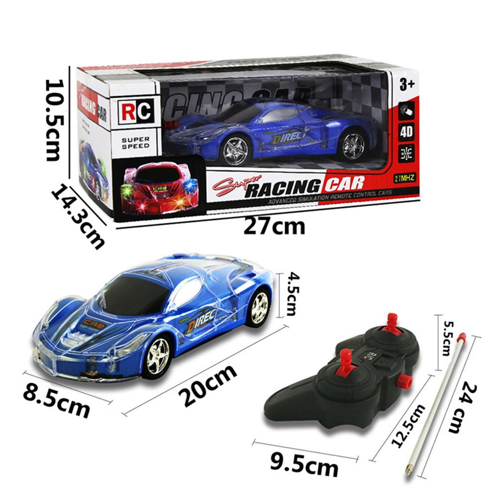 rc-cars 4WD 1/24 RC Remote Control Light Up Racing Car W/ 3D Flashing Lights Drive Toy RC1238705 8